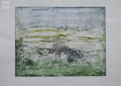 Green and Blue Landscape , 2016